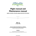 Pipistrel Flight Manual/POH and Maintenance Manual 2009 $5.95