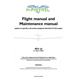 Pipistrel Flight Manual/POH and Maintenance Manual 2009