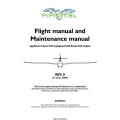 Pipistrel Taurus 503 with Rotax 503 Engine Flight Manual/POH and Maintenance Manual 2006 $9.95