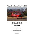 Pitts S-2C VH-JAX Aircraft Information Booklet 2010 $4.95