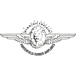 Porterfield-Turner Airplane Logo,Decals!