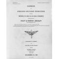 Pratt & Whitney Operation & Flight Instructions for the Models R-1830-9 & R-1830-11 Engines