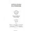 Pratt and Whitney Wasp and Hornet, Wasp Junior Operators Handbook
