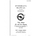 Pratt and Whitney R1830 Overhaul Manual 1st Edition Part No.86405 $24.95