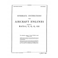 Continental R-670-4, 5,6,11-A Overhaul Instructions AN 02-40AA-3 $13.95