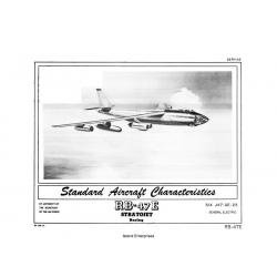 Boeing RB-47E Stratojet Standard Aircraft Characteristics 1954 $2.95