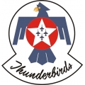 Thunderbirds Aircraft Logo,Decals!