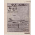 McDonnell RF-101A Voodoo USAF Series Aircraft TO 1F-101(R)A-1 Flight Manual/POH 1958 $9.95