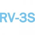 RV-3S Aircraft Decal,Sticker 3.5''high x 13.5''wide!