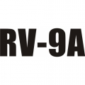 RV-9A Aircraft Decal,Sticker 3''high x 13''wide!