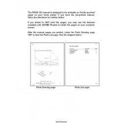 Rans S-6S Coyote II Parts Manual $12.95
