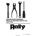 Rasentraktor Rally REB12597K (96011017100) Lawn Tractor Repair Parts Manual 2005