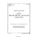 Republic RP-47B, RP-47C & R-47D Airplanes Parts Catalog 1943