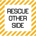 Rescue Other Side Aircraft Placards,Decals!