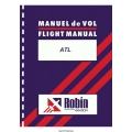 Robin Aviation ATL Flight Manual/POH 1986 $4.95