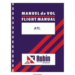 Robin Aviation ATL Flight Manual/POH 1986 $4.95