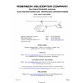 Robinson R44 Maintenance Manual RTR 460 June 2014