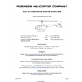 Robinson Helicopter R44 Illustrated Parts Catalog 2012
