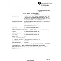 Rockwell Commander 114 Service Information 1976 thru 1998 $13.95