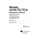 Rockwell Commander 112/B/TC/TCA Maintenance Manual $13.95