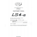 Rolladen- Schneider LS4-A Maintenance Manual 1983 - 1999 $4.95