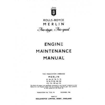 rolls royce 250 maintenance manual