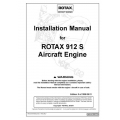 Rotax 912 S Aircraft Engine Installation Manual $29.95