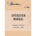 Ryan 205 Operation Manual 4th Edition 1950 $9.95