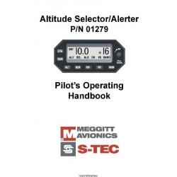 S-tec Avionics P/N 01279 Pilot's Operating Handbook $2.95