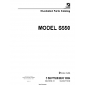 Cessna Model S550 Illustrated Parts Catalog S55PC12 $29.95