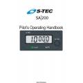 S-TEC SA-200 Altitude Selector/Alerter Pilot's Operating Handbook 2003 $13.95