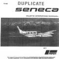 Piper Seneca PA34-200 Pilot's Operating Manual 761 506