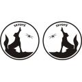 Skyote Aircraft Decal/Sticker 8''h x 8''w!