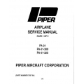 Piper Navajo Service Manual PA-31-300/325 $13.95 Part # 753-704