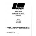 Piper Navajo Service Manual PA-31-300/325 $13.95 Part # 753-704