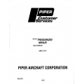 Piper Pressurized Navajo Service Manual PA-31P $13.95 Part # 753-770