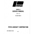 Piper Seneca II Service Manual PA-34-200T $13.95 Part # 761-590