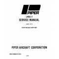 Piper Lance II Service Manual PA-32RT-300/300T $13.95 Part # 761-641
