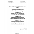 Saft 4076-13, 4078-14, 4078-19, 4417CH14 Component Maintenance Manual 2000 $4.95