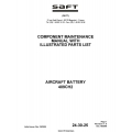 Saft 409CH2 Aircraft Battery Component Maintenance Manual with Illustrated Parts List 2005 $4.95