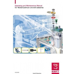 Saft Nickel-Cadmium Aircraft Batteries Operating and Maintenance Manual 2008