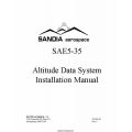 Sandia SAE5-35 Altitude Data System Installation Manual $5.95