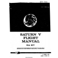 Saturn V Flight Manual/POH SA 507 1969 $9.95