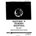 Saturn V Flight Manual/POH SA 507 1969 $9.95