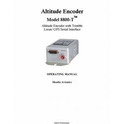 Shadin 8800-T  Altitude Encoder with Trimble Loran/GPS Serial Interface Operating Manual $5.95