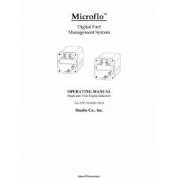 Shadin Microflo Digital Fuel Management System 91202X-38-D Operating Manual $9.95