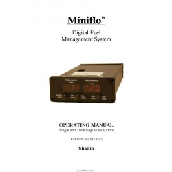 Shadin Fuel Management System Operating Manual  $2.95
