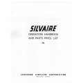 Luscombe Silvaire Operators handbook and Parts Price List