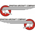 Spartan Aircraft Stickers/Decals!