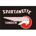 Spartanette Aircraft Decal/Sticker  9.5''wide x 5.5''high!
